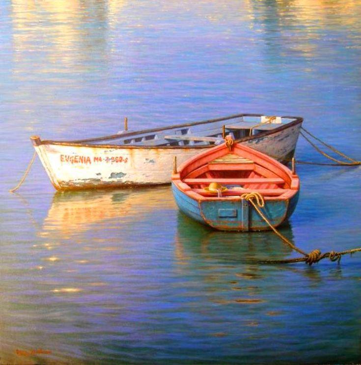 paisajes marinos para pintar al oleo