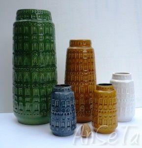 Scheurich Keramik Inka Pattern.