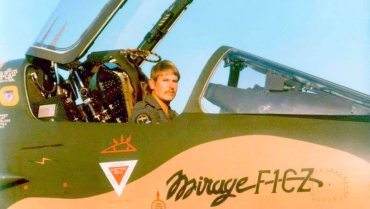 SAAF Dassault Mirage F1CZ pilot.