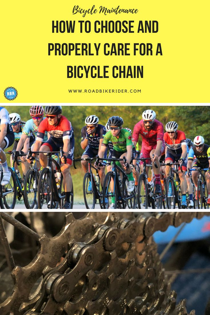 5 Tips To Help You Choose And Maintain A Bicycle Chain Road Bike