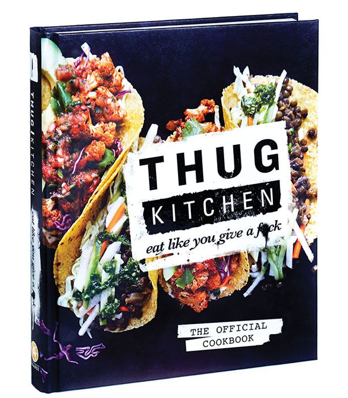 thug kitchen cookbook. not rated G but is funny and the recipes look pretty good.
