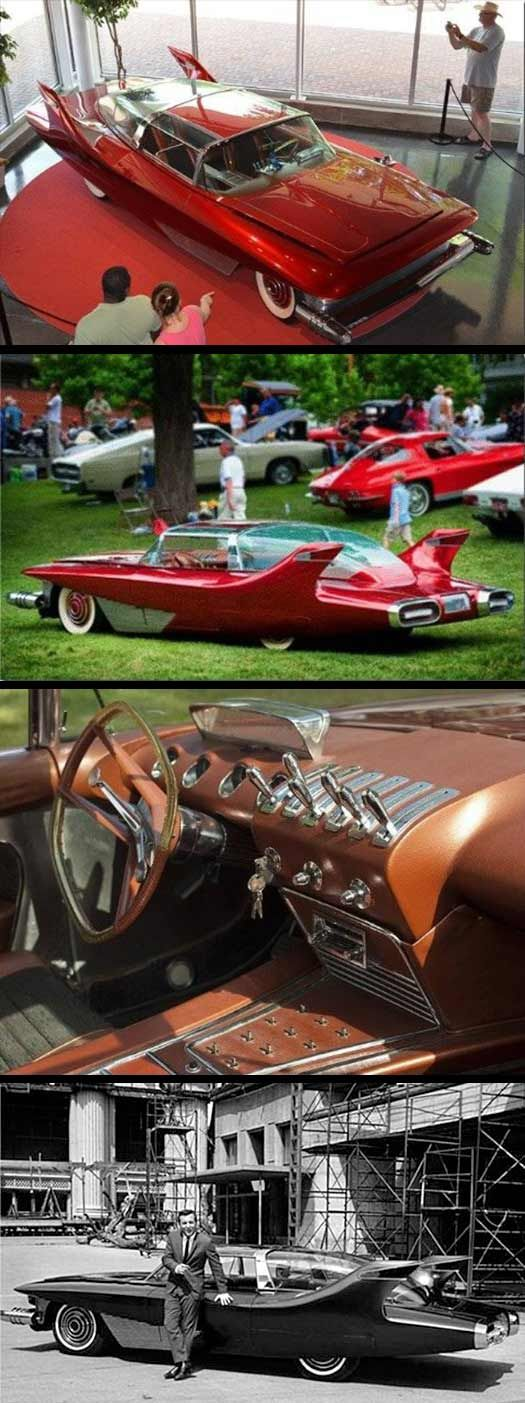 """#BobbyDarin paid $150,000 in 1963 for his """"Dream Car"""" (that's the equivalent of $1,147,789.00 in 2013!). The vehicle was built buy a friend of Bobby's and took seven years to complete."""