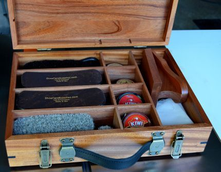 Shoe Shine Box - Reader's Gallery - Fine Woodworking