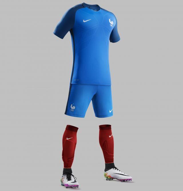 France Euro 2016 Kit Released - Footy Headlines