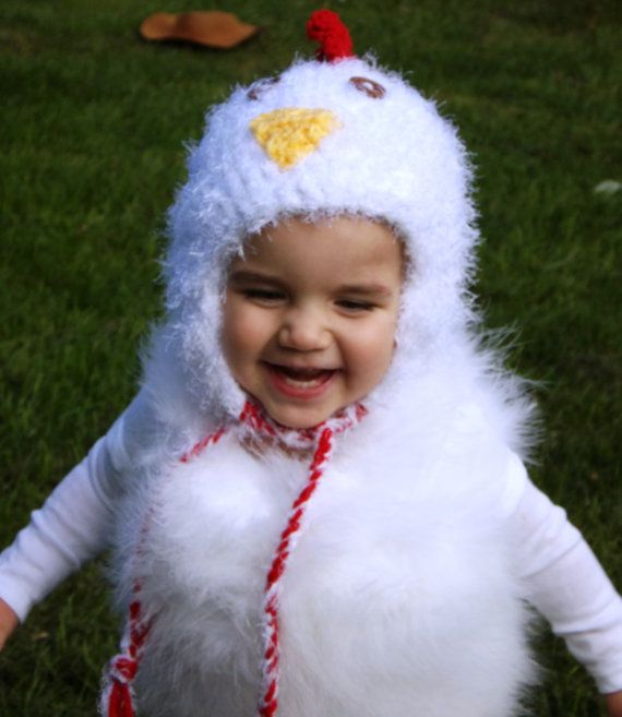 Baby Chicken Costume, Toddler Chicken Costume, Chicken Halloween Costume by Becoming31