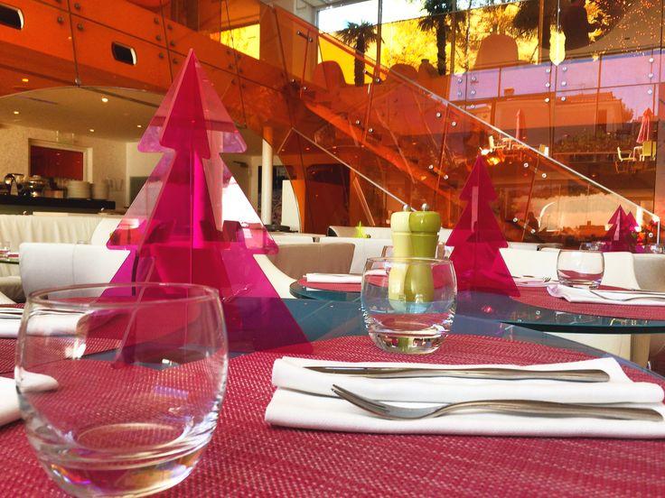 Celebratory lunch break in total Christmas bliss! At Semiramis Restaurant! Where else?