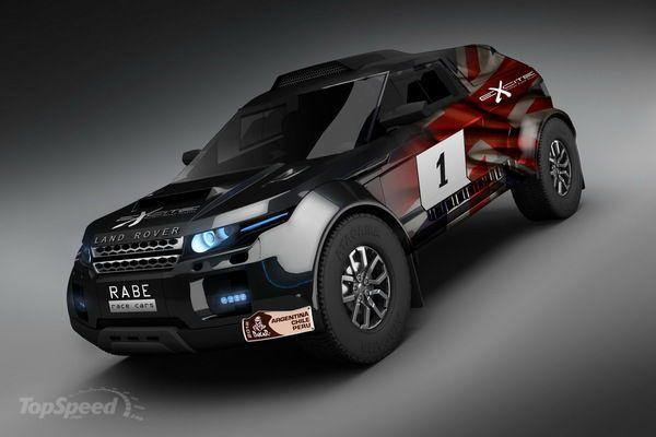 2011 Range Rover Evoque 'T3' Dakar Rally Racer