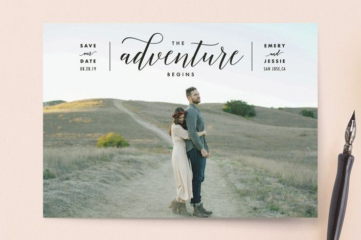 We went through and found some of our favorites trendy and cheap save the dates. Check them out (and check out the extra savings we found on them).