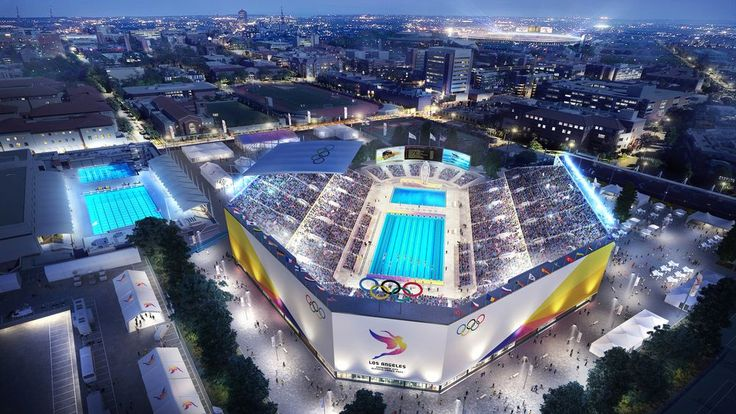 Mapped The Future Sites Of La S 2028 Olympic Games Olympics Los Angeles Olympic Games