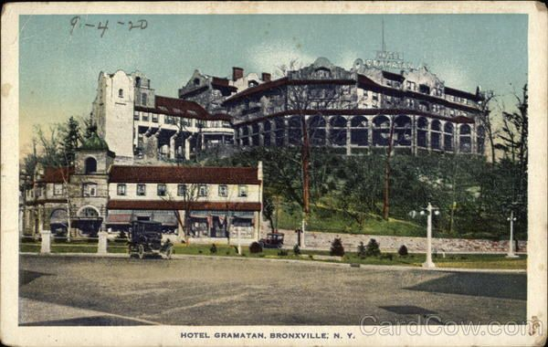 Bronxville Ny View Of Hotel Gramatan My Beloved Home Town New York Travel