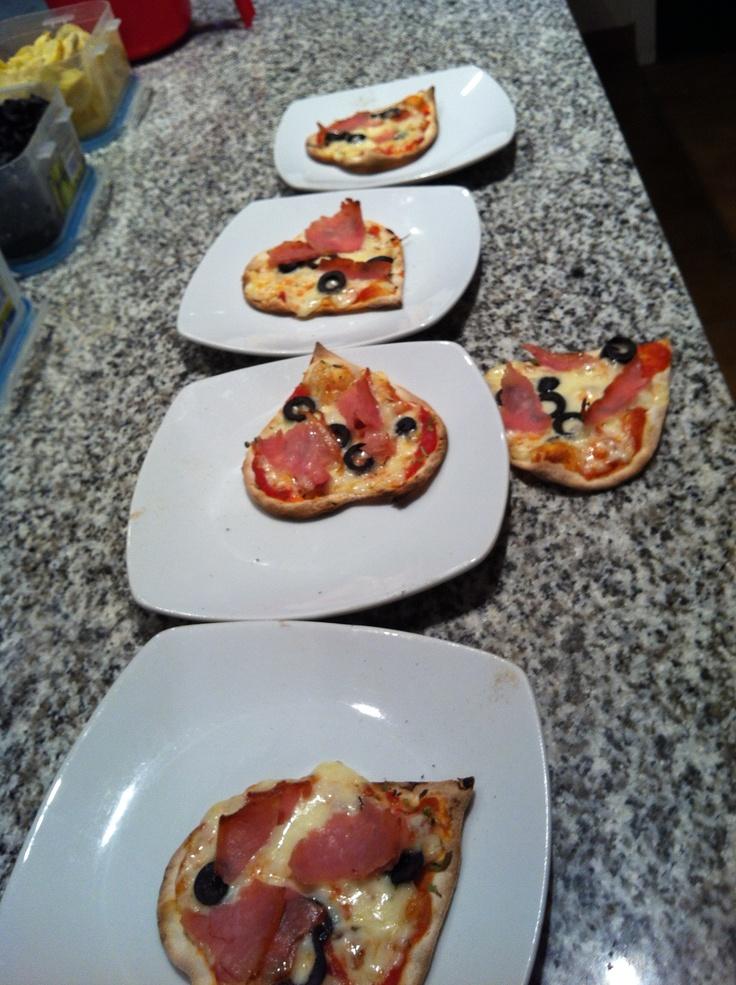 """Pizza's """"cuore"""""""