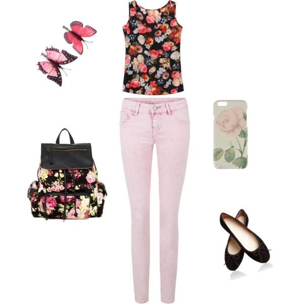 Hello spring by alison-jane-gairns on Polyvore featuring polyvore, fashion, style, Steve Madden, Ted Baker and Accessorize