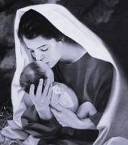Maulana Rumi Online: Rumi on Virgin Mary Giving Birth to Baby Jesus * If your soul takes a bath just for an instant behind His Veil of Love, You'll get to see the Holy Spirit and give birth to baby Jesus just like Virgin Mary did. If you give birth to Jesus like Virgin Mary, without an earthly father, Your face will turn saffron-yellow by the pain of childbirth labor, just like the beautiful red face of Mary did. Rumi