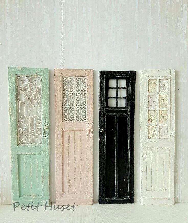 Miniature Doors 1:12