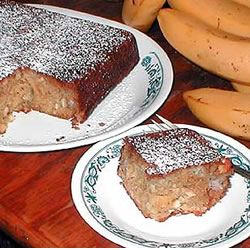 I have some bananas to get rid of going to try this?...Jamaica Cake Allrecipes.com