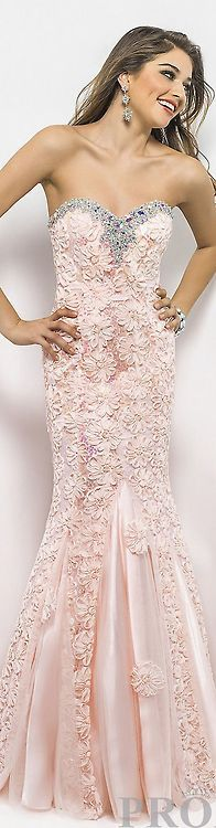 Gown by Blush on Fashion Favs ♥
