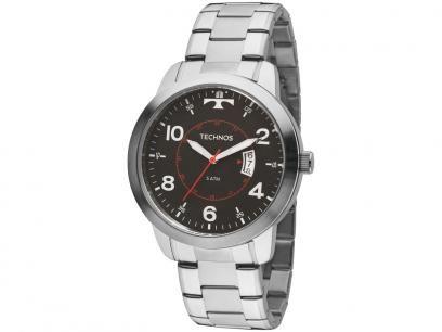 Relógio Masculino Technos Analógico - Resistente à Água 2115KTM/1P com as melhores condições você encontra no Magazine Voceflavio. Confira!