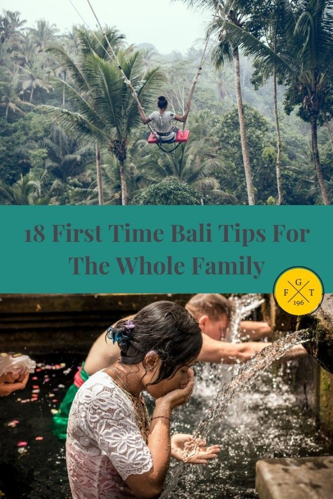 18 First Time Bali Suggestions For The Complete Household