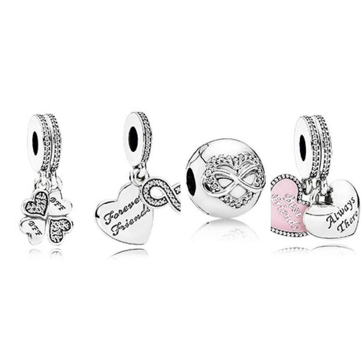 pandora charms friends