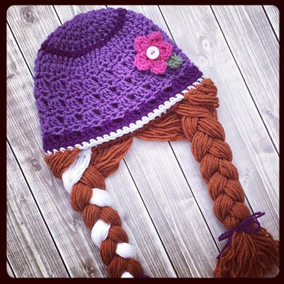 Princess Anna Frozen inspired Crochet PATTERN ~ PDF Digital Download ~ Pattern Only