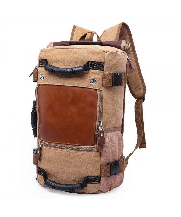 Classic Backpack Men and Women Multifunctional Travel Hiking Canvas Bag