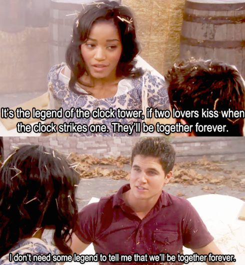 Black Girl White Boy Love ][ Keke Palmer and Robbie Amell in True Jackson, VP