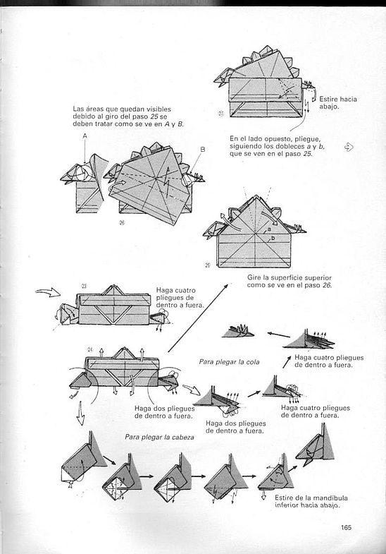 kunihiko kasahara y Toshie Takahama (Papiroflexia) - Origami para expertos 164_page164