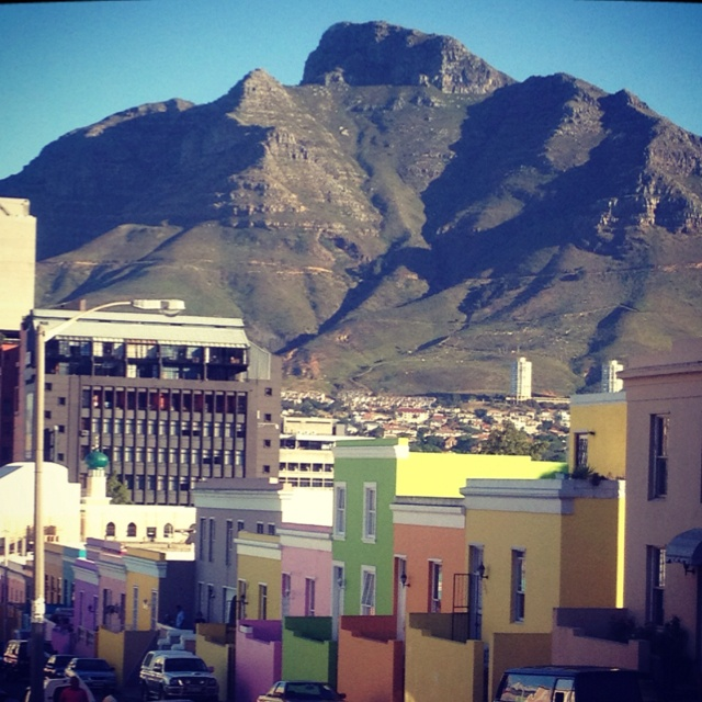 A beautiful mountain behind a very special place in Cape Town.