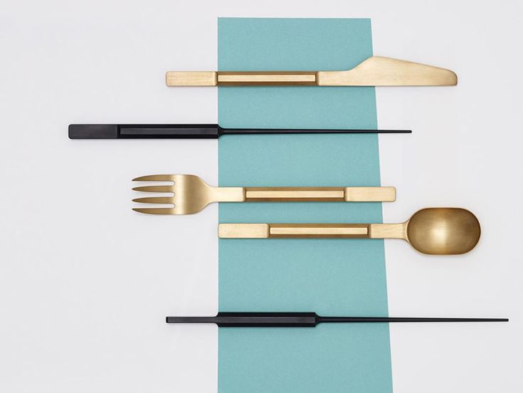 each of the designers have developed their own prototype set of eating tools for valerie objects that embody an element of surprise and high-end luxury.
