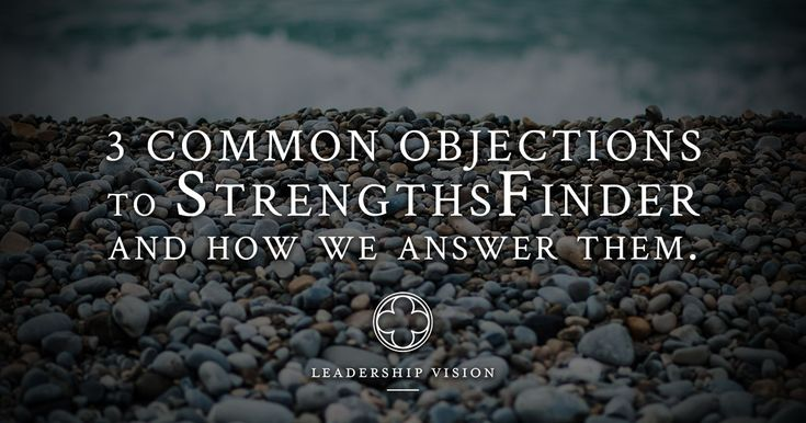Bethany shares three of the most common objections we get, and presents the Leadership Vision approach to helping others understand the benefits of Strengths based work.
