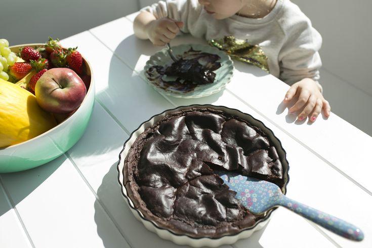 brownie jaglane przepis, thermomix