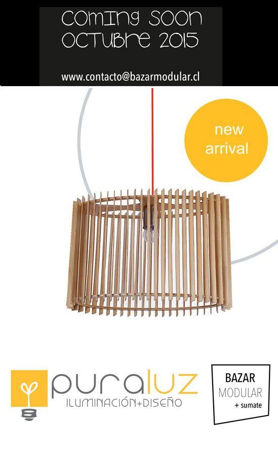Pura luz Iluminación Coming Soon en Bazar Modular