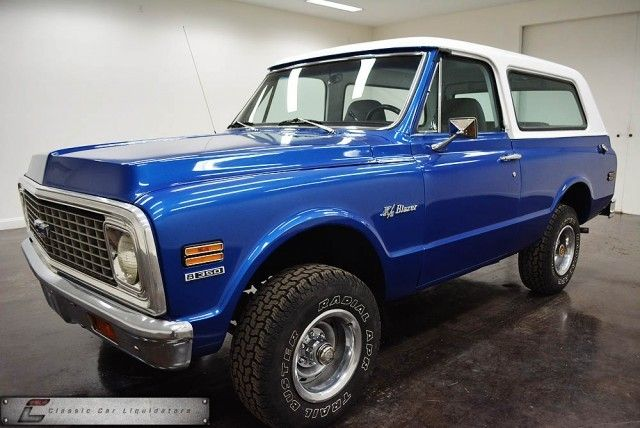 1971 Chevrolet K5 Blazer 4x4. ★。☆。JpM ENTERTAINMENT ☆。★。