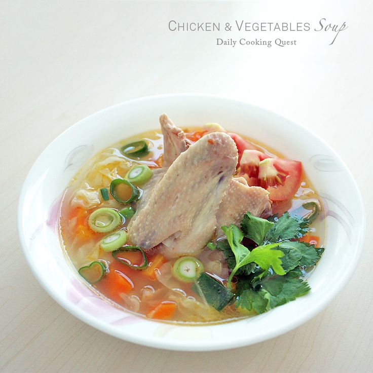 We have been eating too many fried food lately and desperately crave for a more wholesome food. The fix: chicken and vegetables soup. Piti has been begging me to cook him this soup, and lucky for him this is my favorite too. Enjoy! ♥ Print Chicken and Vegetables Soup Author:Daily …