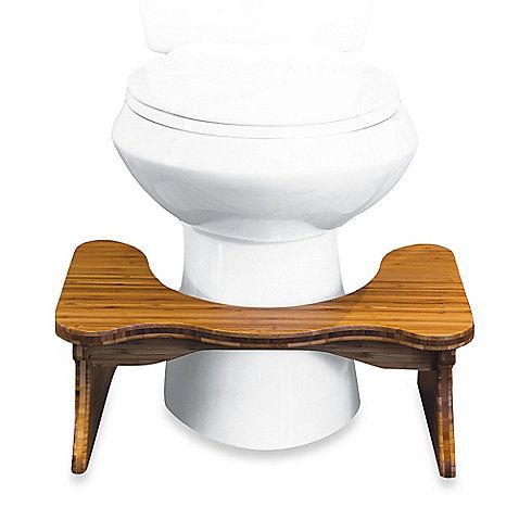 This doctor recommended Squatty Potty Tao Bamboo Toilet Stool perfectly aligns the colon for effortless elimination. Eases toilet related ailments. Made for comfort height or handicap toilets. Simulates a comfortable squat position.