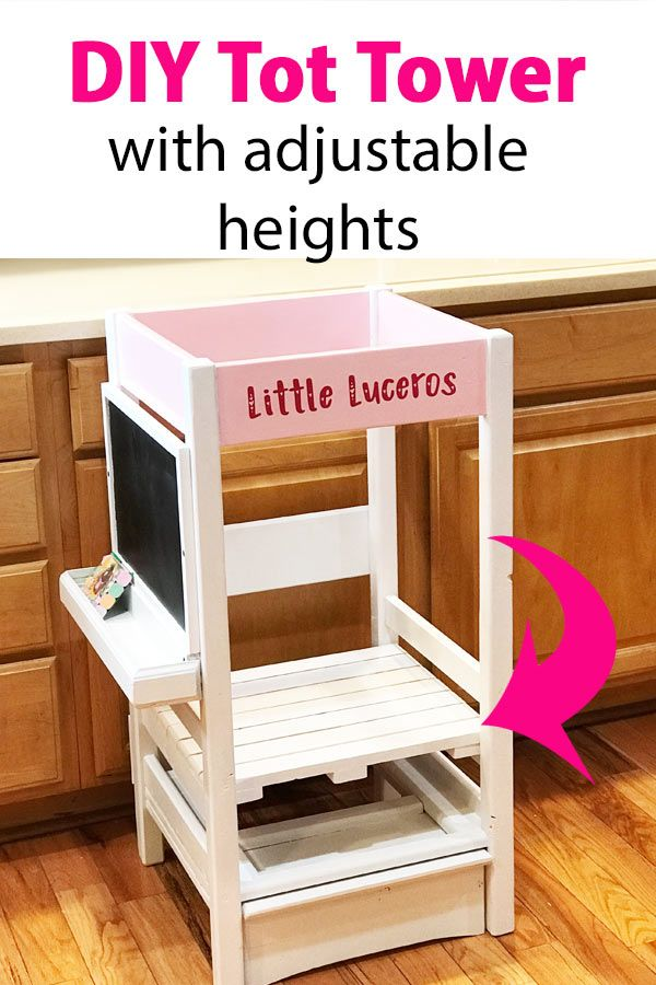 Toddler Learning Tower In 2020 Toddler Kitchen Stool Learning Tower Kitchen Stools Diy