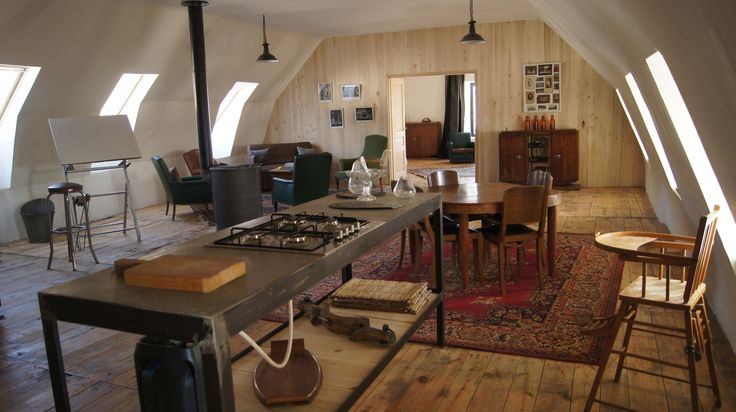 Le loft, à la Colonie Maison d'Hôtes à Aubrac