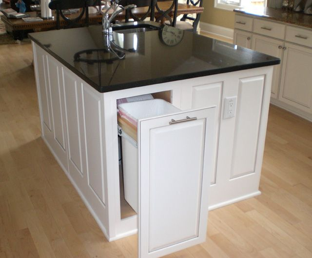 Kitchen Island Trash Can   Bing Images