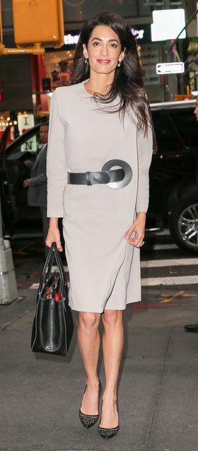 Amal Clooney, work wardrobe