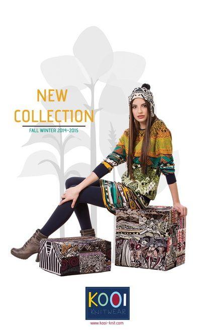 Maja S - Kooi knitwear - january 2014. - OREA WORLDWIDE MODEL MANAGEMENT