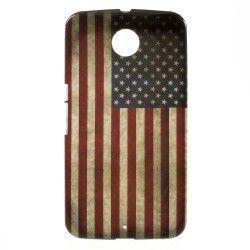 Nexus 6 TPU case, cover, hoes Usa Vlag