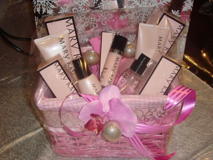 15 best MAry Kay gift baskets images on Pinterest | Gift basket ...