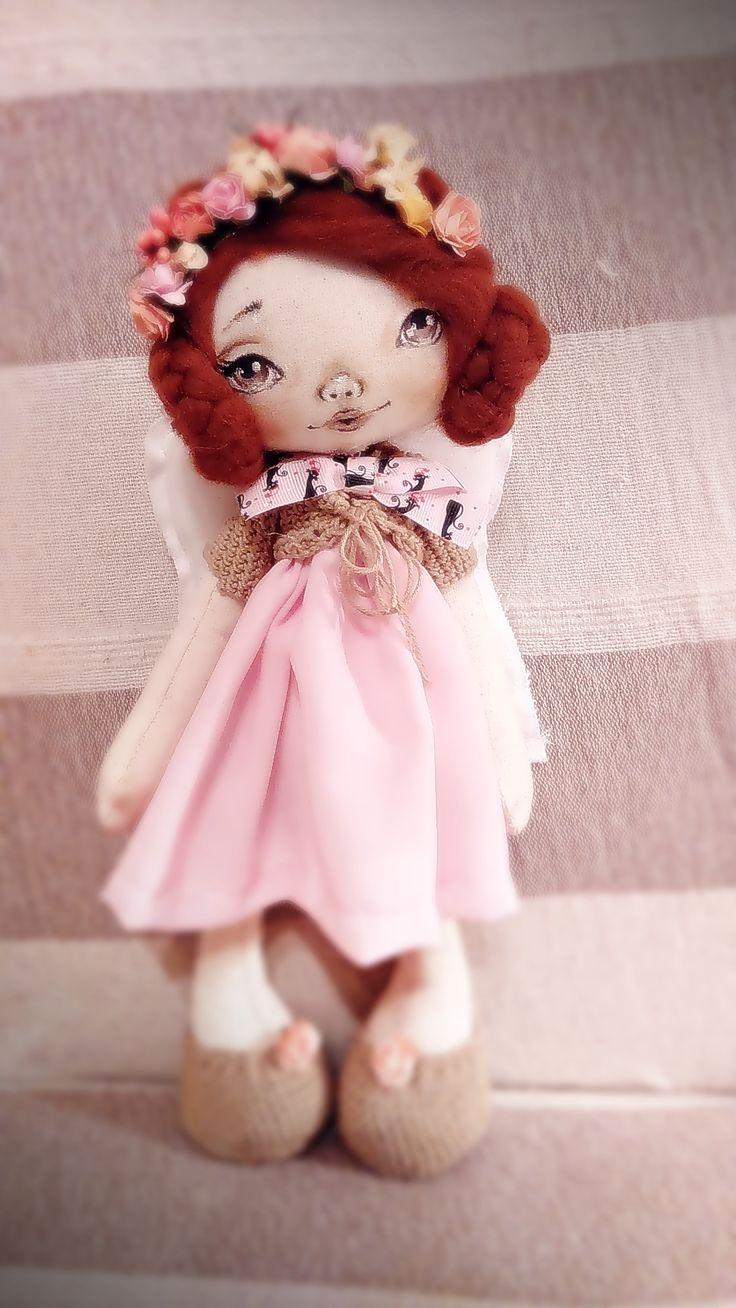Wieczór dobry :), oto cupnęła sobie Angelinia pierwsza ;).... pierwsza bo malowana lala ;).. pozdrówka