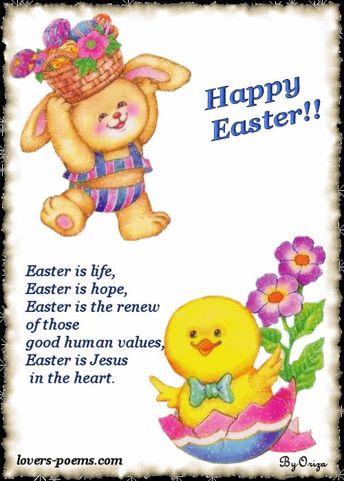 Children are the sweetest creation of the Lord. They become the center of attraction everywhere, especially during festivals and celebrations. Easter Poems, too, carries great importance for children.