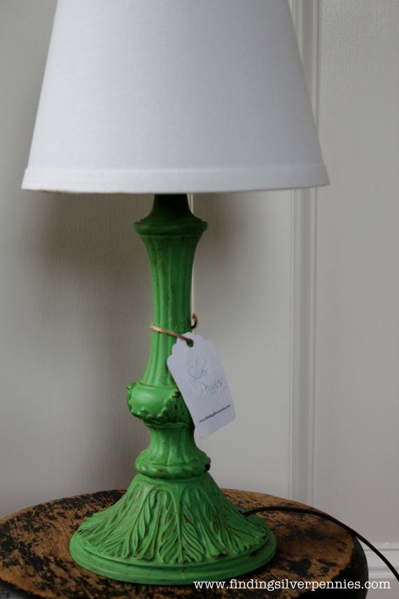 1000 Images About Chalk Paint Lamp Makeovers On Pinterest