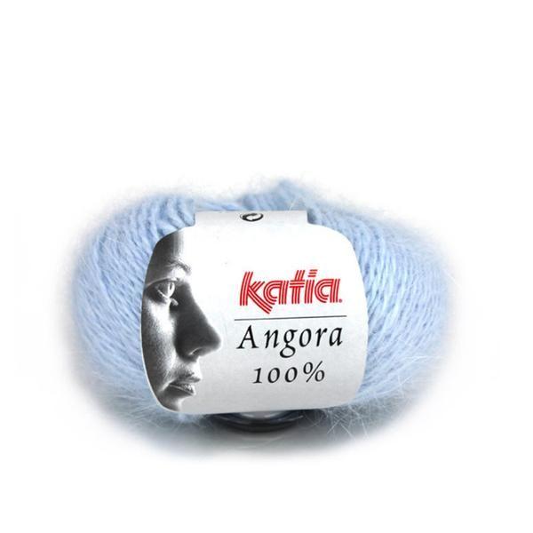 Katia Angora 100% Knitting Wool. Available at www.texyarns.com