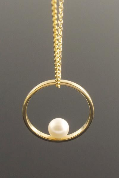 29 best handmade gold and silver jewellery images on pinterest gold plated silver circle pendant with cream freshwater pearl handmade necklaces audiocablefo