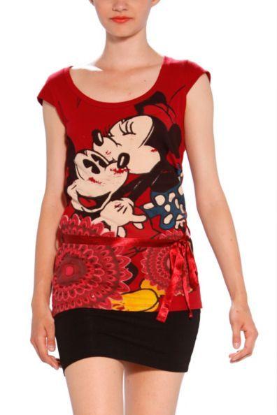 Maglietta Desigual - Modello Fresa, linea Disney