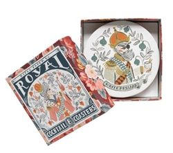 Rifle Paper Co. Royal Cocktail Coaster Sets available at Northlight