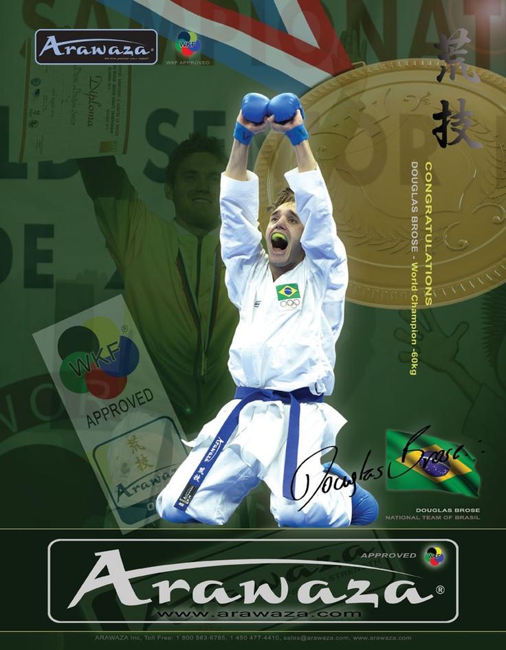 Douglas Brose #arawaza #karate #equipment #douglas_brose
